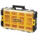 デウォルト (DEWALT) コンパクトオーガナイザー タフシステム工具箱 DS100 品番:DWST1-75522 <中を魅せる収納!ネジ…