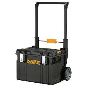 【送料無料】デウォルト (DEWALT) キャリーカート DS450 品番:DWST08250 タフシステムシリーズと連結でき現場までの移動を快適にサポート! 大型2輪方式 小回りが利き悪路の移動も快適!IP65の防塵