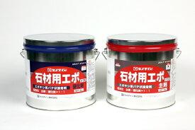 セメダイン石材用接着剤 現場施工用 石材用エポ 主剤・硬化剤 (耐水用・二液混合形のエポキシ系接着剤) 10kgセット
