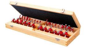 送料込■RELIEF 超硬刃トリマービット厳選30種 木箱入り 30662