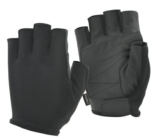 FUBARフーバー 5フィンガーレスモデル FB-61(シンセティックレザーグローブ) おたふく手袋