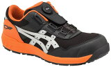 ◆マラソン期間中はエントリーでポイント10倍◆新作asicsアシックス作業用靴ウィンジョブCP209Boa025(1271A029)ファントム×シルバーINGINGMOTORSPORT採用モデル