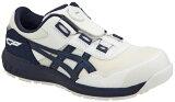 新作asicsアシックス作業用靴ウィンジョブCP209Boa102(1271A029)ホワイト×ピーコート