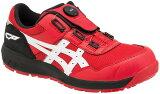 新作asicsアシックス作業用靴ウィンジョブCP209Boa602(1271A029)クラシックレッド×ホワイトCERUMO採用モデル