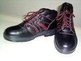 【J-WORK安全靴】ハイカットタイプ耐油性のポリウレタン二層底#760