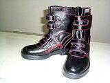 【J-WORK】半長靴安全靴マジックテープタイプ耐油性#775