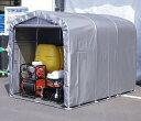 送料込■メーカー直送■パイプ倉庫1坪 SN4-SVU 資材や農機具の格納庫やサイクルハウスに