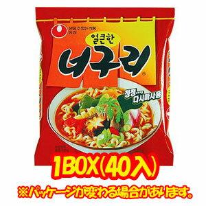 【農心】 ノグリラーメン (1個当り\80)1箱=40個入(4箱=1個口)【あす楽対応】【韓国ラーメン・韓国食品】