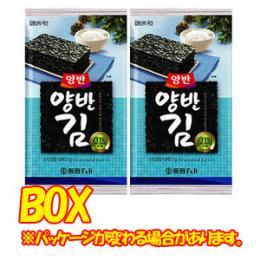【ドンウォン】ヤンバン海苔(弁当用) 4号x1箱(24個)★2箱=荷物1口★1個当たり¥138(税別)