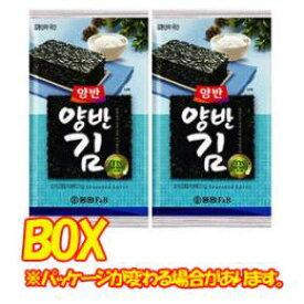 【ドンウォン】ヤンバン海苔(弁当用) 4号x1箱(24個)★2箱=荷物1口★1個当たり¥150(税別)