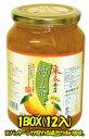 【宋家】 柚子茶1kg 1箱=12本【1箱=送料1個口】【宋家のシリーズ】