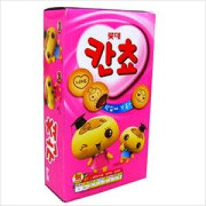【ロッテ】カンチョ(チョコスナック)57gx1箱(32個)★1個当たり¥95(税別)