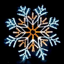 LEDイルミネーション/2Dモチーフライト LEDスノーフレーク白・黄色/LED ホワイト/LED イエロー/イルミネーション/クリスマス/コロナ産業/送料無料/RCP/05P03Sep16/【HLS_DU】