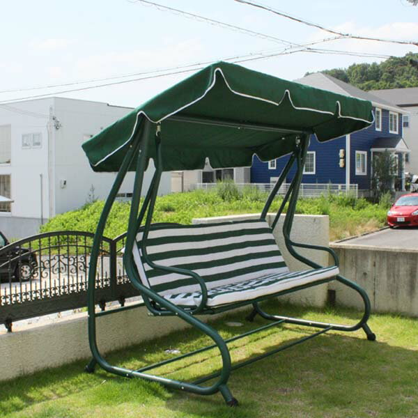 ロッキングベンチ ベッドタイプ/屋外家具/ガーデンファニチャー/ベンチ/送料無料/RCP/05P03Sep16/【HLS_DU】