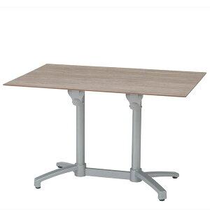 エコフィックス テーブル120×80(ムーングレー) タカショー【大型宅配便】/ 商業向け 業務用 イベント /RCP