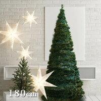 【先行予約/11月上旬入荷予定】アコーディオンクリスマスツリー180cmサイズ/イルミネーション付き/クリスマス/折り畳み式/フォールディング/ポップアップ/インテリア/おしゃれ/コンパクト/収納便利/プレゼント/RCP