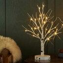 ブランチツリー LED シラカバツリーライト ミニ USB付き クリスマスツリー おしゃれ イルミネーション LED 枝ツ…