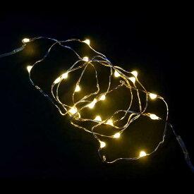 室内用LEDジュエリーライト/ジュエリーライト電球色20球 電池式(タイマー付)/イルミネーション/デコレーション/クリスマス/室内用/コロナ産業/RCP