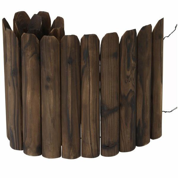 先割花壇フリー 焼磨 H:400/ガーデンフェンス/ミニフェンス/木製フェンス/RCP/05P03Dec16/【HLS_DU】