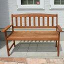 木製ガーデンベンチ MA-120BC 【大型宅配便】/ ガーデンファニチャー ガーデンチェアー ガーデンベンチ ベンチ…