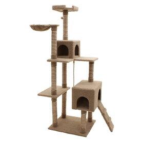 キャットタワー シエスタ/猫タワー ペット用品 犬猫用品 おしゃれ 据え置き型/RCP/
