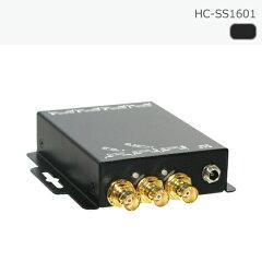 SDIスプリッタ1入力6出力リクロック対応カスケード接続対応【スプリッター分配器延長】
