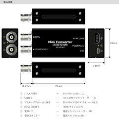 SDI→HDMIコンバーター