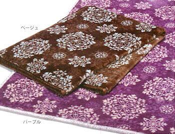 【京都西川】【リラックスウォーム】アクリル毛布(毛羽部分) 140x200cm