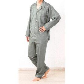 名入れ刺繍対応 日本製 ロマンス小杉 R・C・S スーピマ パイピング仕立て メンズパジャマ Lサイズ ズボン前開き有 上下セット 長袖 長ズボン 紳士用 | 日本製 紳士用 メンズ 寝巻き ルームウェア pajama mens スーピマコットン 綿100 開襟 長ズボン