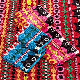 [メール便4点迄] ATSUKO MATANO(マタノアツコ) 今治 ウォッシュタオル 34×35cm MT9604 東京西川 | 日本製 黒猫 ネコ かわいい 今治タオル お洒落 おしゃれ 綿100 ギフト プレゼント[キャッシュレスで 5%還元]