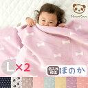 [お買得2枚組]日本製 綿毛布 ひなたぼっこ ハーフサイズ キッズ ベビー 140×100 しっかり厚手 綿100 | 保育園 洗え…
