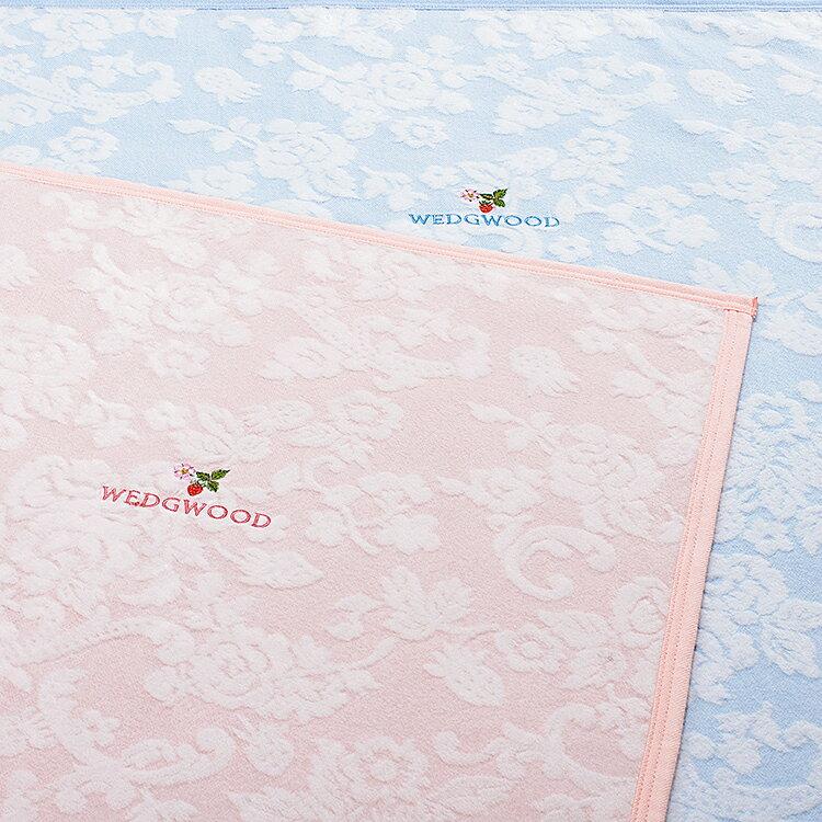 WEDGWOOD(ウェッジウッド) 綿毛布 シングル(140×200cm) WW8633 東京西川