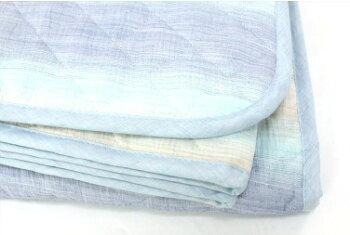 NEW凛寝プレミアムブルーグラデーションシングルサイズ名入れ刺繍対応日本製【HanzamCocoa】母の日