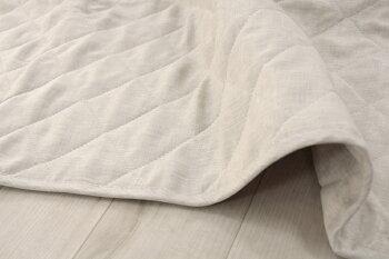 日本製麻敷きパッドフレンチリネン100%りんねオリジナルクイーンサイズ160×200麻100%ハンザムココア両面麻100|リネン麻ベッドパット接触冷感パッドシーツ麻パッドクィーン敷きパット汗取りベッドパット国産ベージュ洗える名入れひんやりクール