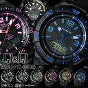 シチズン CITIZEN Q&Q メンズ 腕時計 電波 ソーラー コンビネーション アナデジ ブランド プレゼント 激安 MD06-302 …