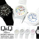 【メール便送料無料】シチズン Q&Q レディース 腕時計 ファルコン 10気圧防水 防水時計 ウレタンベルト スポーツウォ…