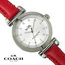 【送料無料】コーチ COACH レディース 腕時計 スポーツ SPORTS クオーツ 14502537 シルバー×レッド ブランド 特価 プレゼント ギフト おすすめ