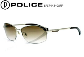 POLICE ポリス サングラス eyewear ハーフリム ジャパンモデル UVカット STORM SPL744J-08FF プレゼント 喜ばれる 大人 かっこいい 芸能人 おしゃれ アイウェア 眼鏡 グラサン 大人 フィット 日本人向け シャープ 最新モデル