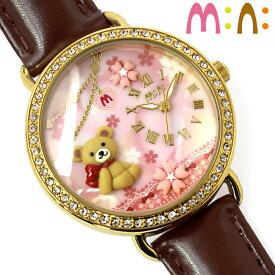 7e53da10da 腕時計 レディース ミニ mini キッズ 革ベルト ブランド 個性的 可愛い ガールズ くま 桜 キラキラ ライン