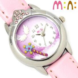 29905adfe3 腕時計 レディース ミニ mini キッズ 革ベルト ブランド 個性的 可愛い ガールズ ゆめかわいい キラキラ ライン