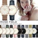 ローズフィールド ROSE FIELD レディース腕時計 アナログ 38mm ユニセックス メンズ お揃い 色違い ペアウォッチ可能 …