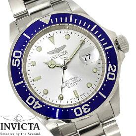 3cd5047e63 腕時計 メンズ INVICTA インビクタ ダイバーズウォッチ プロダイバー 14123 ブルー シルバー クオーツ Pro Diver ブランド 人気