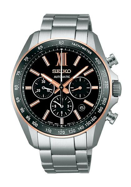 【送料無料】【国内正規品】ブライツ セイコー 腕時計 自動巻 メカニカル クロノグラフ メンズ SDGZ012 SEIKO 機械式 BRIGHTZ ステンレス オートマティック 自動巻き うでどけい とけい WATCH 時計【取り寄せ】