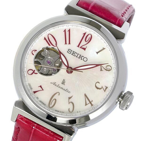 セイコー SEIKO LUKIA ルキア 逆輸入 日本製 自動巻き レディース 腕時計 SSA835J1 かわいい 大人 プレゼント ホワイトデイ ラッピング無料 おすすめ ランキング ブランド おしゃれ エレガント モテ