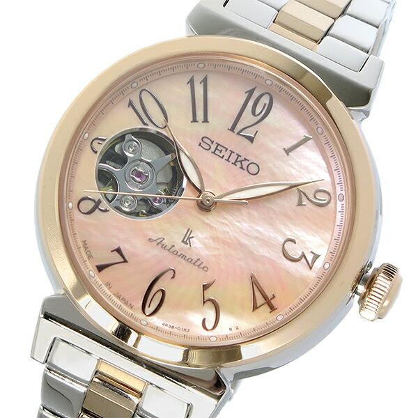 セイコー SEIKO LUKIA ルキア 逆輸入 日本製 自動巻き レディース 腕時計 SSA838J1 かわいい 大人 プレゼント ホワイトデイ ラッピング無料 おすすめ ランキング ブランド おしゃれ エレガント モテ