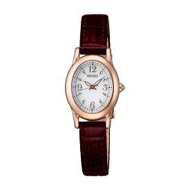 【送料無料】【国内正規品】セイコー ティセ 腕時計 ソーラー レディース SWFA148 SEIKO TISSE ソーラー腕時計 オフィス 革ベルト レザー オーバル 細身 華奢 シンプル うでどけい とけい WATCH 時計【取り寄せ】