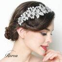 ヘッドドレス ヘアアクセサリー 髪飾りボンネ ブライダル ウェディングウエディング 結婚式 二次会 パーティー 花 葉 …