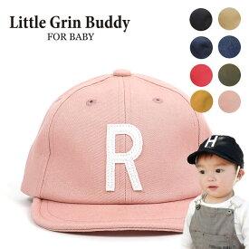 Little Grin Buddy(リトル グリンバディ)大人気のSim Logo Cap に待望のベビーサイズが登場。対象年齢は1歳から2歳つばの先端にワイヤー入りキャップ【ベビーキッズ帽子】【ベビーキッズキャップ】子供 女の子 男の子