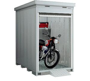 【イナバガレージ】バイク保管庫FXN-1326HY●ハイルーフ■一般型多雪地型