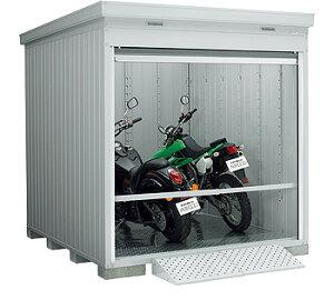 【イナバガレージ】バイク保管庫FXN-2226HY●ハイルーフ■一般型